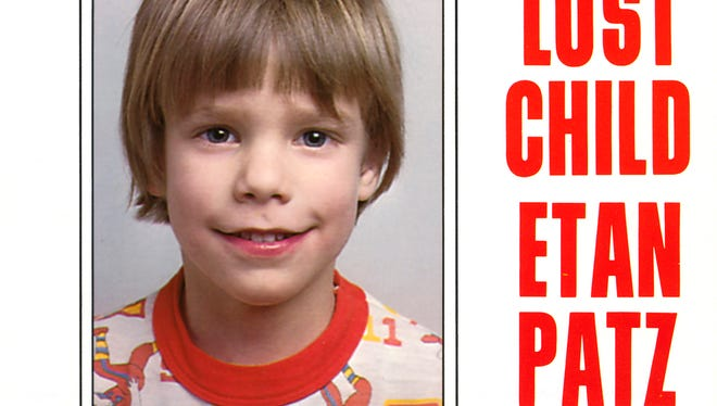 A flier distributed by the NYPD shows Etan Patz, who vanished in New York City on May 25, 1979.