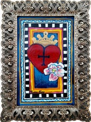 """Corazon del Rey"" by Katie Foss, part of the ""Retro"