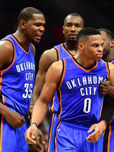 Russell Westbrook is making his fifth All-Star Game