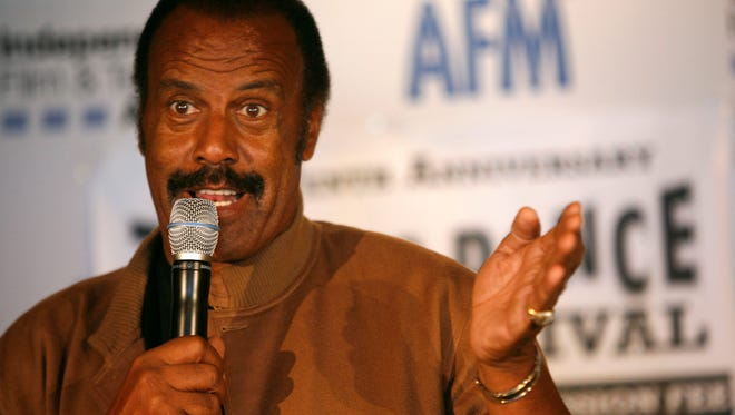 Actor/director Fred Williamson attends the 2008 AFM - Troma Press Conference held at Loews Santa Monica Beach Hotel November 6, 2008 in Santa Monica, California.  (Photo by Thos Robinson/Getty Images for AFM)