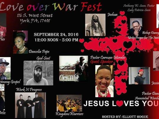 Love over War Fest