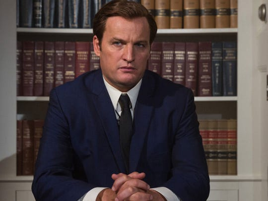 Jason Clarke as Ted Kennedy in the new film, Chappaquiddick.