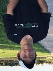 Novi junior Alex Wen captured the No. 1 singles title