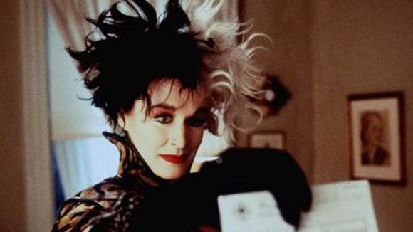 Glenn Close is seen in her role as Cruella De Vil in