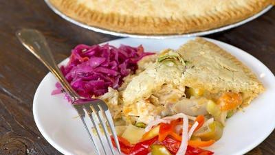 Chicken pot pie from O Pie O