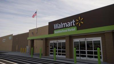 The Walmart Neighborhood Market on Federal Drive, Monday, Jan. 25, 2016, in Montgomery, Ala. The Walmart Neighborhood Market is scheduled to open on Wednesday.