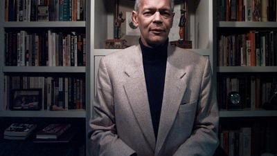 Civil right pioneer Julian Bond poses in his Washington home in Feb. 22, 1998.