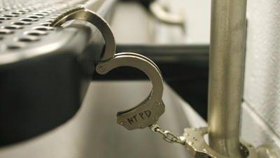 File photo of hand cuffs.
