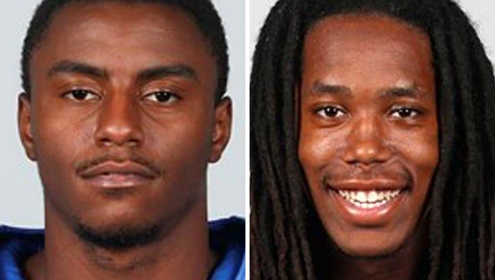 University of Memphis football players Jae'Lon Oglesby