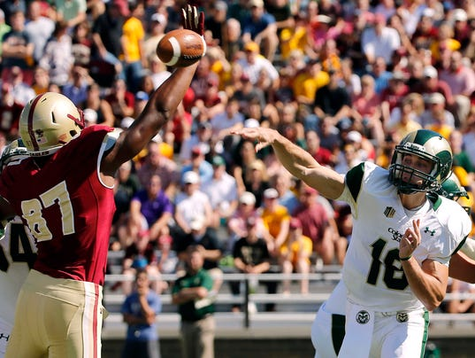 NCAA Football: Colorado State at Boston College