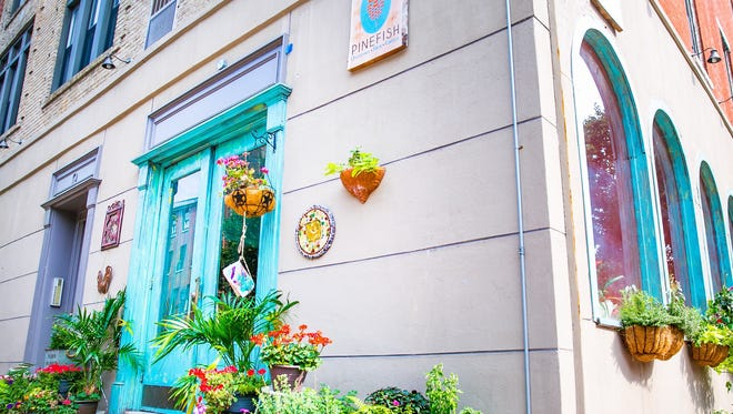 A look at the exterior of Pinefish restaurant in Philadelphia.