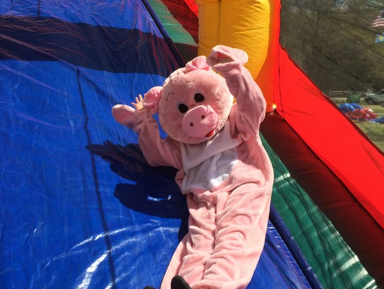 Family-friendly fun at Pork in the Park will include