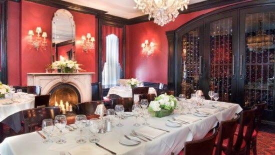 Dining room at The Ho-Ho-Kus Inn &Tavern.