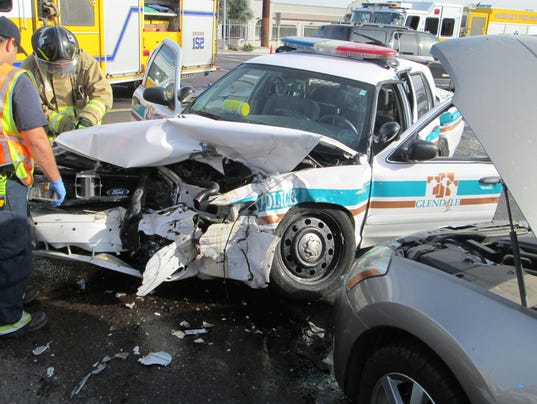 Glendale police-involved fatal crash