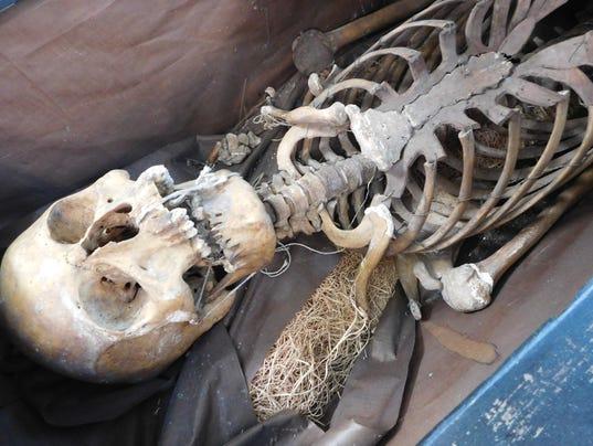 West Plains Odd Fellows Skeleton