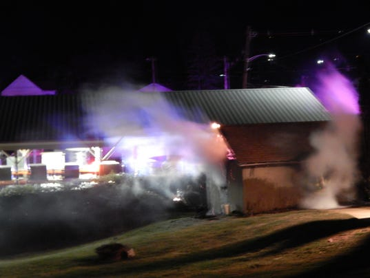 Butler garage fire