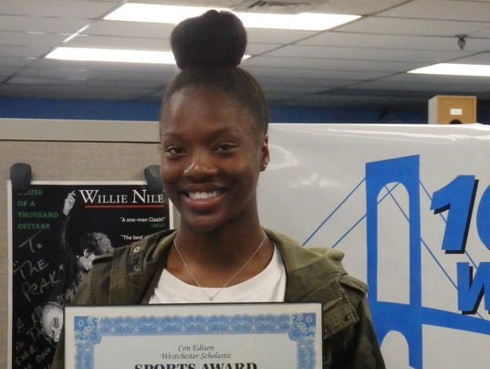 Olivia Morgan, New Rochelle track and field, Con Edison Athlete of the Week