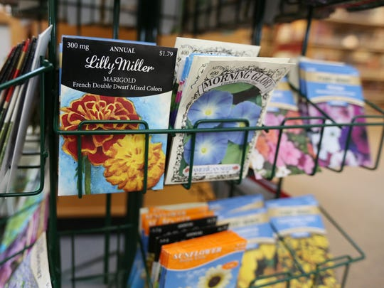 The Monmouth Public Library gives away seeds as part of a Seed Lending program.