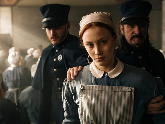 Sarah Gadon as Grace Marks on 'Alias Grace.'