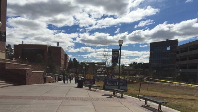 On Thursday UNR will stage an active assailant drill. Students are on spring break this week.
