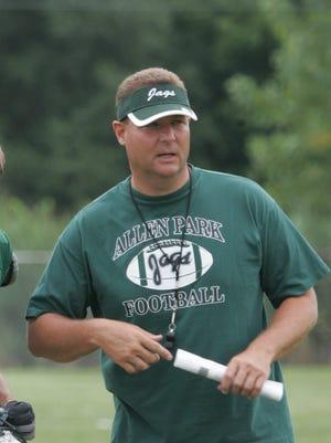 Former Allen Park coach Tom Hoover