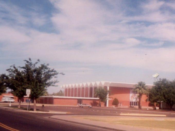 Coronado High School, designed by the renowned mid-century