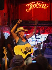 Canadian musician Terri Clark stopped by Tootsie's