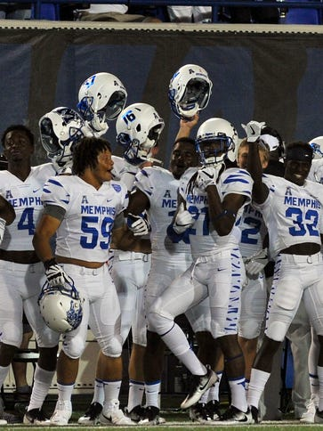Expect the Memphis Tigers to beat Navy and maybe take