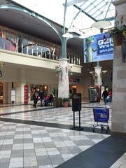 This space in Castleton Square mall is where eyewitnesses said scores of young people were clustered Saturday night and where fights broke out preceding a stampede out of the mall that closed many shops to close early for the night.
