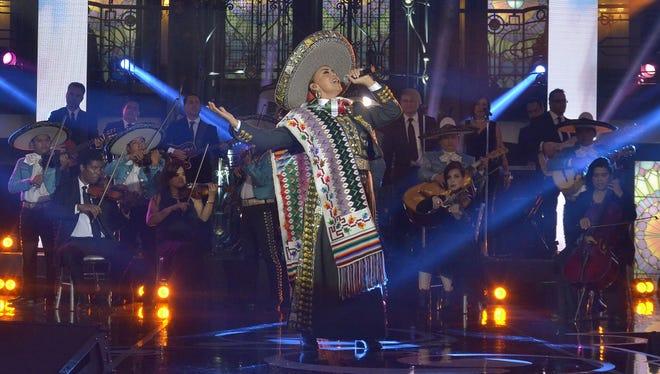 Aída Cuevas, una de las máximas exponentes de la música vernácula.
