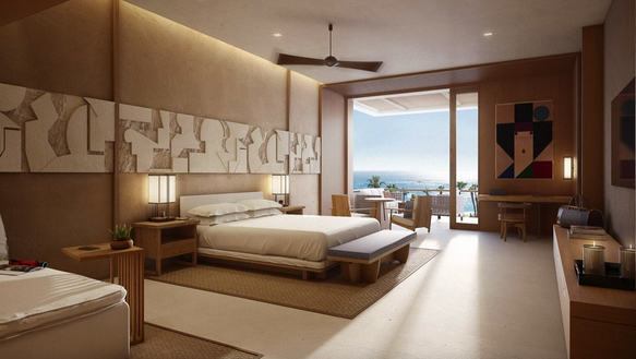 The Nobu Hotel Los Cabos will be the brand's first