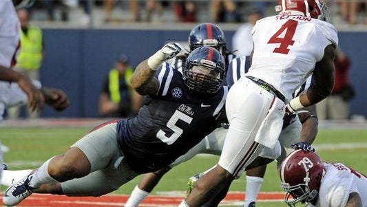 Robert Nkemdiche had a modest 33 tackles last season. Is the junior set to have a breakout season for the Rebels?