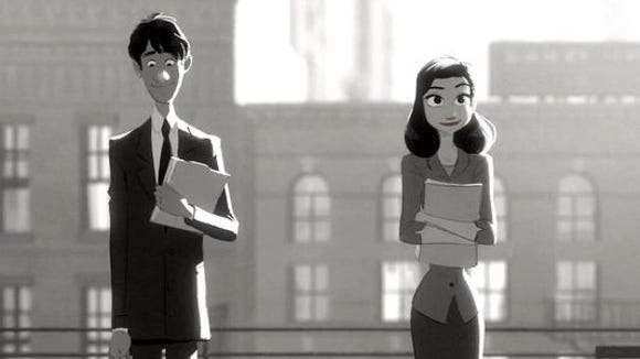 'Paperman' features a melding of animation styles to