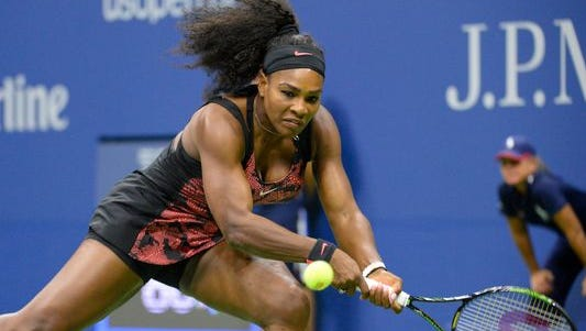 Serena Williams was dominant in Round 1 of the U.S. Open.
