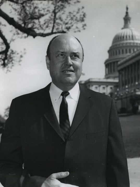 1968 Press Photo Rep. Melvin R. Laird