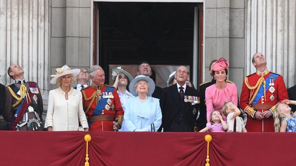 It's just not a royal event without a balcony shot.