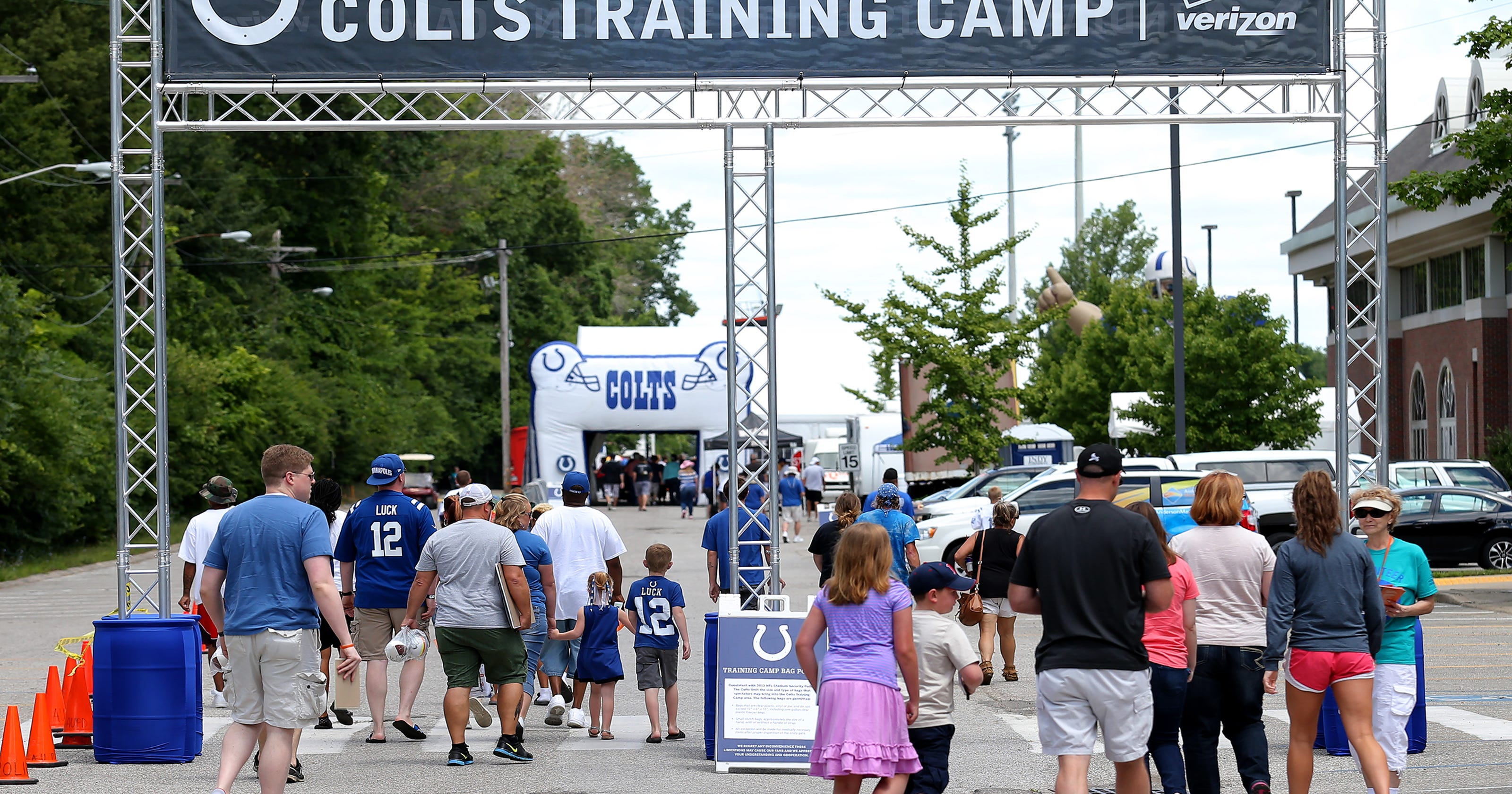 01738cad4c Everything you need to know about Colts training camp at Grand Park