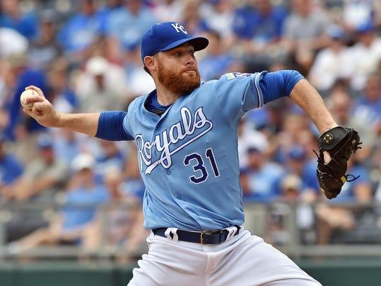 MLB: Houston Astros at Kansas City Royals