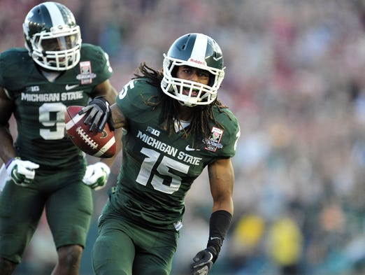 college football story spartan player returned michigan case