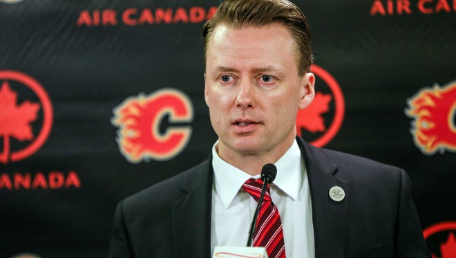Glen Gulutzan has 146 career wins with the Flames and Stars.