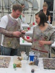 Indianapolis Art Center's Valentine art dates