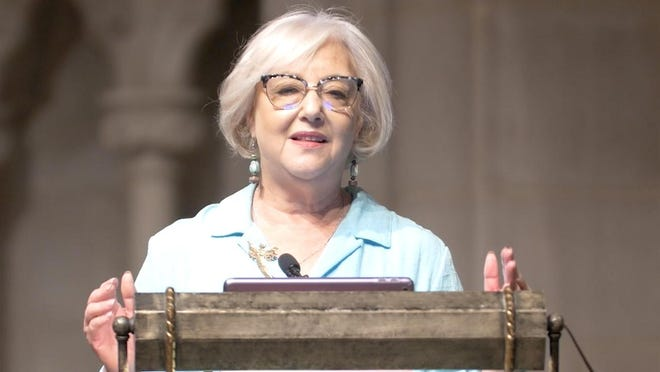 Laurie Mufson, Convocation speaker is pictured here.  Provided photo/ Mercersburg Academy