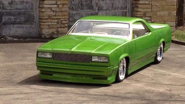 A chance invite to exhibit her modified El Camino at Autorama brought tears to Patricia Matichak's eyes.
