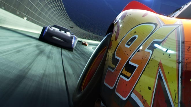 """""""Cars 3"""" cruises into theaters on June 16."""