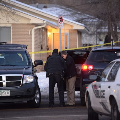 Police continued to investigate a Tuesday night stabbing