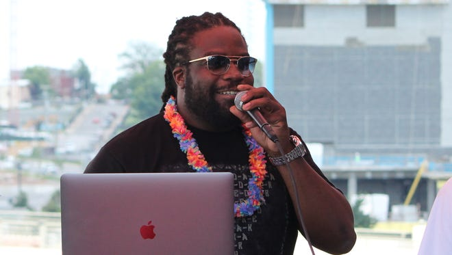 Gramps Morgan hosts a new weekly reggae party, 'Acme Islander,' on the rooftop of Nashville's Acme Feed & Seed.