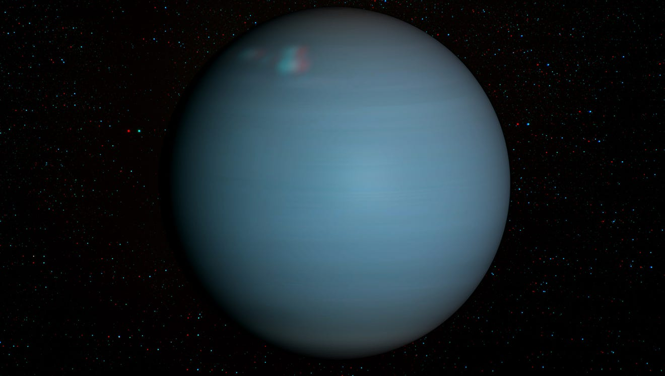 Uranus will be visible with the naked eye in Indiana