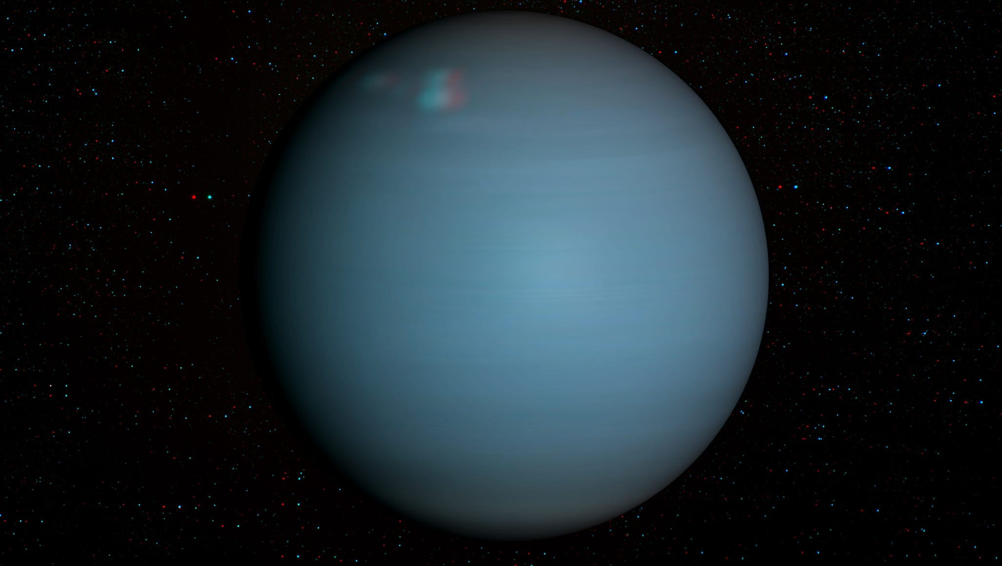 Uranus will be visible with the naked eye tonight
