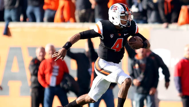 Seth Collins is expected to play wide receiver for Oregon State in the Civil War after missing the previous four games with a knee injury.