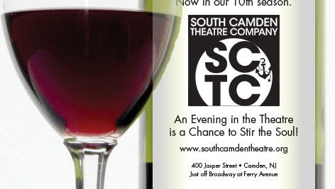 When you raise a toast to the 10th anniversary of the South Camden Waterfront Theatre and support the group's ongoing work.